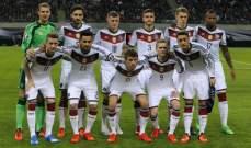 تصنيف الفيفا: ألمانيا مستمرة في الصدارة ولبنان في المركز 84