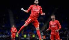تقييم اداء لاعبي مباراة ريال مدريد واسبانيول