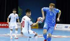 اوزبكتان في مواجهة ايران في نصف نهائي كأس اسيا للصالات