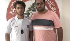 شباب الساحل يضم الظهير الايمن احمد يونس