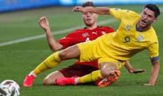 كورونا يطيح بمواجهة أوكرانيا وسويسرا