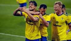 الدوري الإسباني: قادش يخطف الفوز في اللحظات الأخيرة أمام فالنسيا