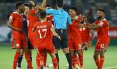 استبعاد حكم من بطولة كأس آسيا بسبب قراراته الخاطئة