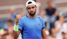بطولة أميركا المفتوحة: الإيطالي بيريتيني إلى الدور ربع النهائي