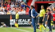 فالنسيا يجدّد تعاقده مع المدرب مارسلينو حتى 2020
