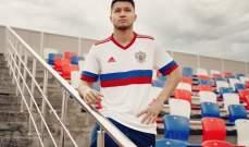 قميص المنتخب الروسي لتصفيات يورو 2020 وقطر 2022