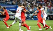 حرمان انكلترا من ركلتي جزاء امام تونس