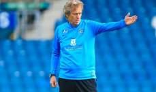 مدرب الهلال يهدي الفوز على الباطن لرئيس النادي الجديد