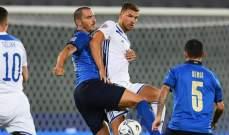 احصاءات من مباراة ايطاليا والبوسنة في دوري امم اوروبا