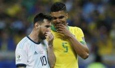 كاسيميرو: نعلم جودة ميسي لكن علينا أن نقدر المنتخب الأرجنتيني بأكمله