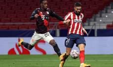 كاراسكو يحصد جائزة لاعب الشهر في اتلتيكو مدريد