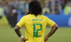 مارسيلو: اعمل يوميا من اجل العودة الى المنتخب البرازيلي
