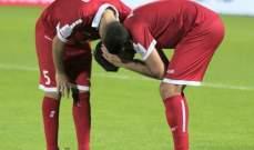 الدموع تغلب لاعبي لبنان بعد الخروج بسيناريو حزين من كأس آسيا