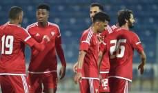 الاولمبي الاماراتي يواجه كوريا الجنوبية في ختام كأس دبي الدولية الودية