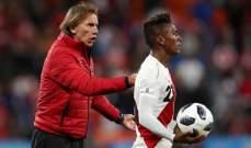 مدرب البيرو : اداءنا كان رائعاً امام المنتخب الفرنسي