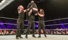 WWE: شيلد يفوز في اخر مباراة له قبل رحيل امبروز