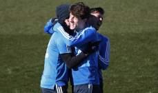 ابراهيم وأودريوزولا اول العائدين الى تدريبات ريال مدريد