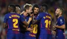 برشلونة يعود للتدريبات استعداداً لمواجهة ليفانتي