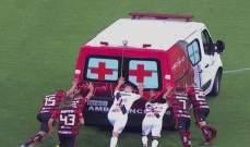 فيديو: مهمّة إنقاذ من نوع آخر في الدوري البرازيلي