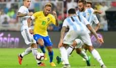 """""""سوبر كلاسيكو"""" الأرجنتين والبرازيل مجددا في السعودية"""