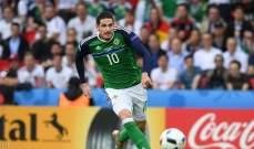 ايرلندا تمنع نجمها من اللعب مع ناديه