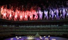 بدء دخول الرياضيّين في حفل افتتاح أولمبياد طوكيو 2020