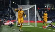 برايتون  يتابع مسيرته الناجحة في كأس الاتحاد الانكليزي ويلحق الهزيمة بوست بروميتش ألبيون