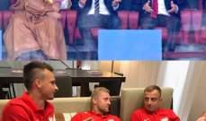لاعبو بولندا يقلدون واقعة بوتين وبن سلمان!