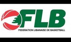 برنامج مرحلة الإياب من بطولة لبنان للدرجة الأولى للسيدات