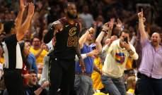 NBA PLAYOFFS: كليفلاند ينعش اماله بعد معادلته السلسلة النهائية مع بوسطن