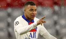 مبابي يتوج بجائزة لاعب الشهر في فرنسا