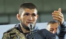 مينديز: هناك مقاتل وحيد بامكانه التفوق على نورمحمدوف
