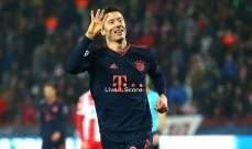 ليفاندوفيسكي : البايرن يستطيع تحقيق لقب دوري الابطال في الموسم المقبل