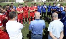 قائمة منتخب لبنان المتوجّهة إلى كوريا الجنوبية لخوض تصفيات كأس العالم وكأس آسيا