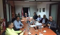 إتحاد السلة يعقد جلسة بحضور الرئيس بيار كاخيا