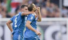 يوفنتوس يبدأ مشوار الدفاع عن لقبه بفوز على بارما في الدوري الايطالي