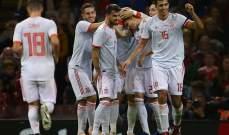اسبانيا تستعرض امام ويلز وتعثر فرنسا وتركيا