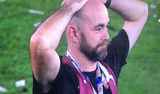 فيديو: مدرب قطر يُرفع على الأكف