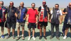 رماية:ألان موسى بطل المرحلة الرابعة من بطولة لبنان للتراب الفئة (أ) ممتاز