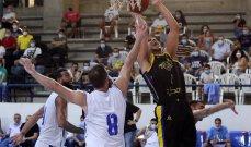 سلة لبنان: الرياضي يتخطى الشانفيل في عقر داره ويتقدم في السلسلة 2-0