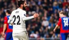اس: ايام ايسكو مع  ريال مدريد اصبحت معدودة