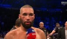 الملاكم البريطاني بيليو يعاني من مشاكل على مستوى الذاكرة بعد مواجهة اوسايك