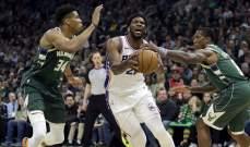 NBA: ميلووكي يسقط امام فيلادلفيا والكليبرز يحافظ على حظوظه في النهائيات