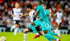 الدوري الإسباني: ريال مدريد يعتلي الصدارة بعد تخطي فالنسيا