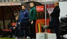 مارتينيز: الفوز هدية مثالية لمباراتي الخمسين كمدرب لبلجيكا
