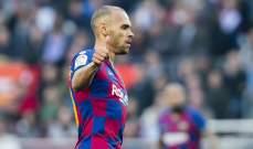 برايثوايت يترك برشلونة ويعود إلى مدريد
