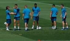 اصابة بنزيمة في تدريبات ريال مدريد
