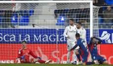 لا اخطاء تحكيمية تذكر في مباراة الريال وهويسكا في الدوري الاسباني