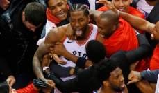 NBA: رابتورز الى نهائي القسم الشرقي بعد اقصاء فيلادلفيا