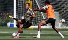 ناتشو يعود الى تدريبات ريال مدريد